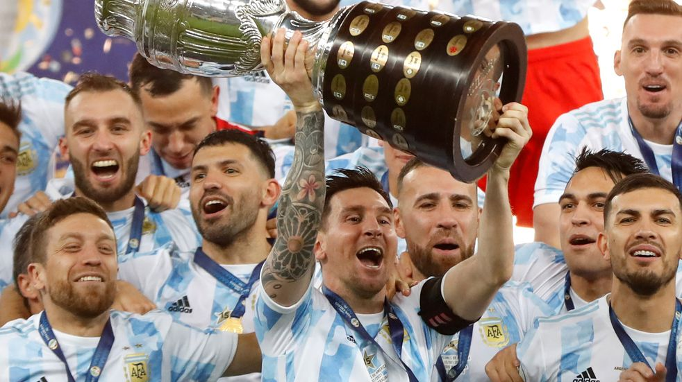 Selección Argentina: Lionel Messi logró su primer título con la Mayor