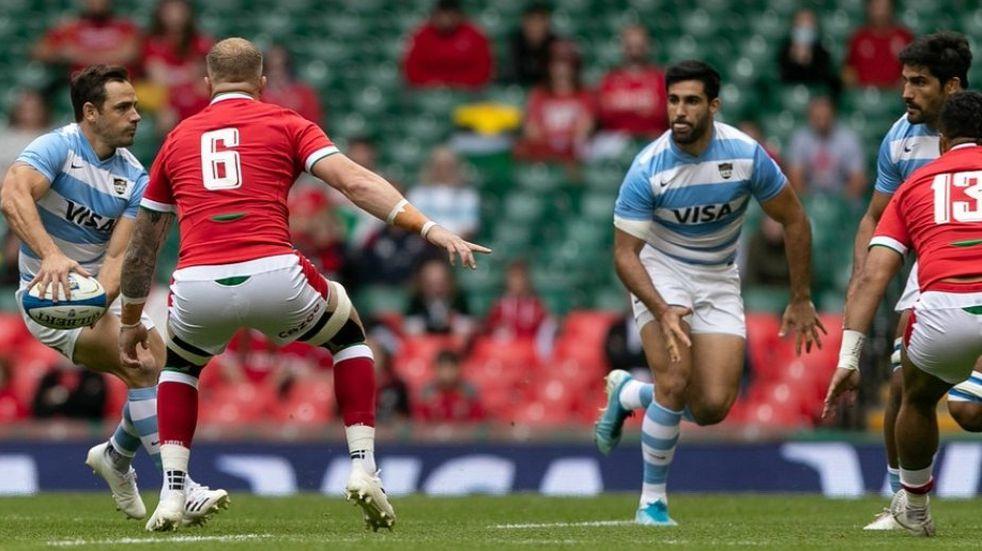 Los Pumas jugaron un partidazo y empataron 20-20 con Gales