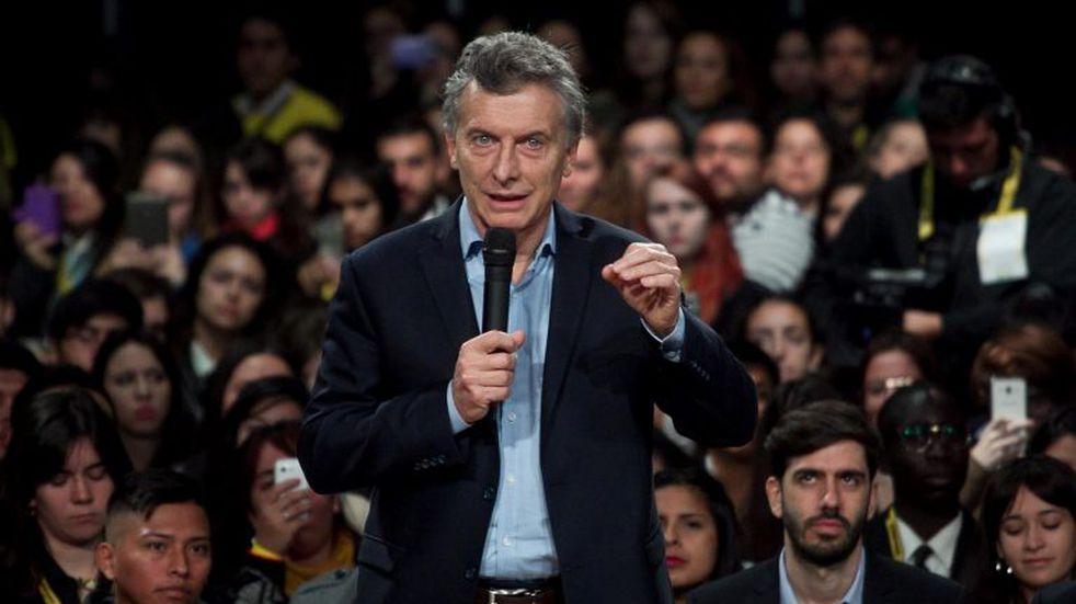 """Macri criticó a Alberto Fernández y dijo que la Argentina está """"alineada con la dictadura de Nicolás Maduro"""""""