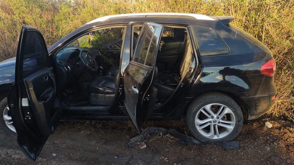 Dos bandas de delincuentes se tirotearon en plena Ruta 14