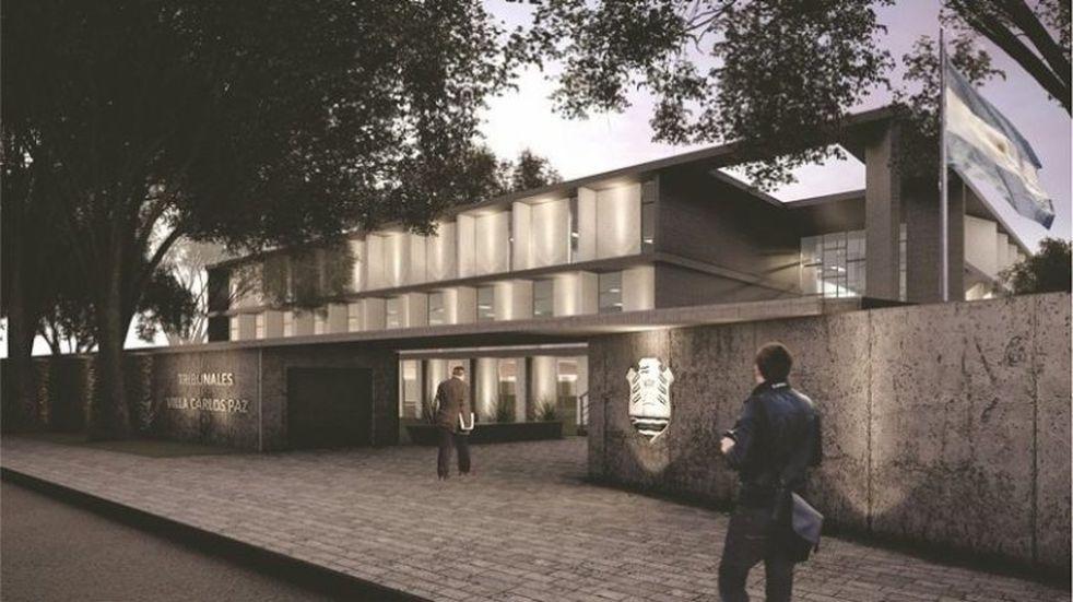 Comienza la obra del nuevo edificio de Tribunales.