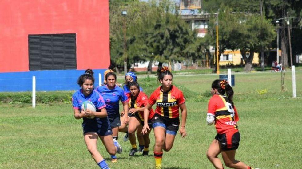 Se juega el Regional B de Rugby Femenino