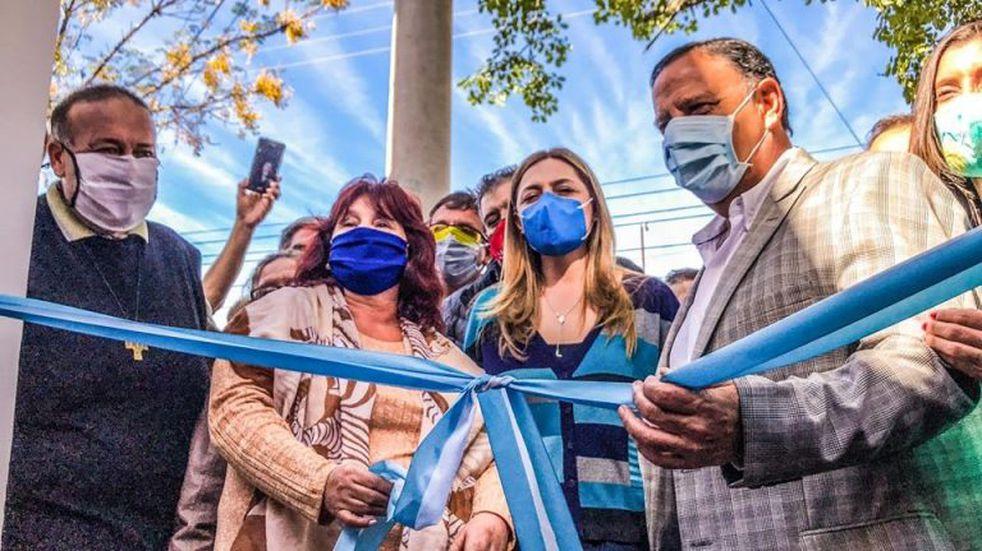 El tradicional Barrio 20 de Mayo formó parte de la celebración por el Aniversario Riojano