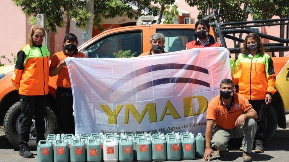 YMAD envió donaciones a Defensa Civil de la provincia