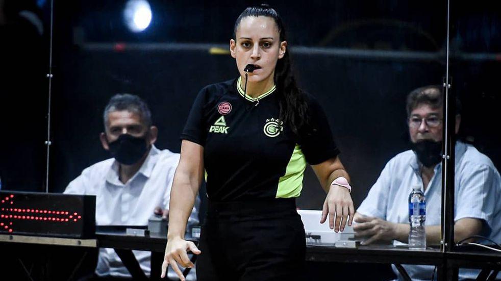 Bianca Tedesco deja de dirigir básquet tras denunciar por acoso sexual a otro árbitro