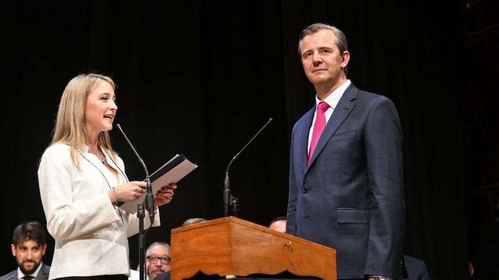 Adan Bahl asumió como intendente de Paraná