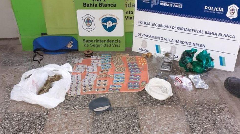 Detuvieron a tres viedmenses que trasladaban drogas valuadas en cinco millones de pesos
