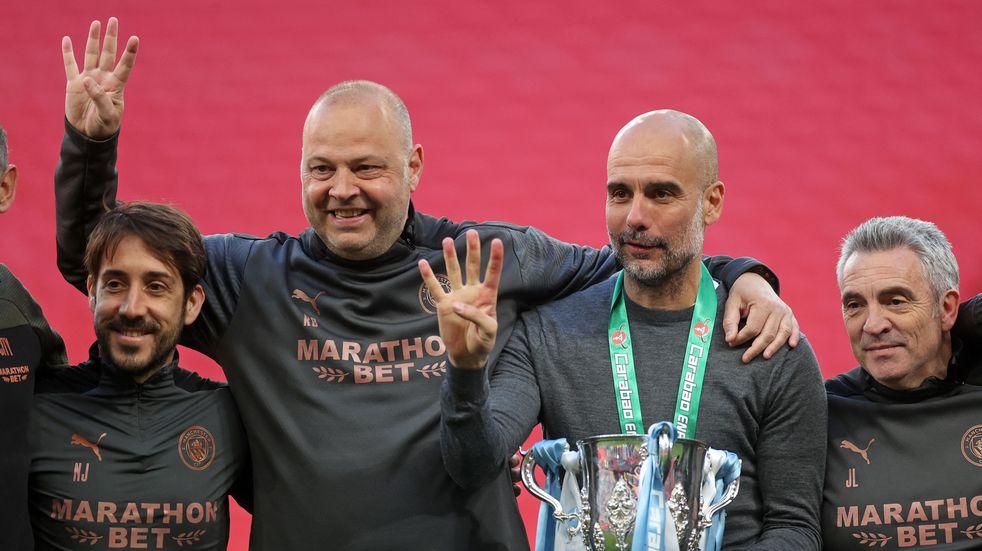Pep Guardiola, entre los entrenadores más ganadores de la historia