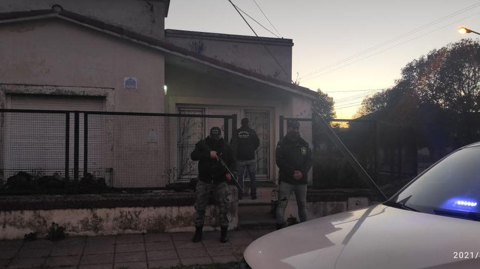 Resultados de los allanamientos antidrogas en Tres Arroyos