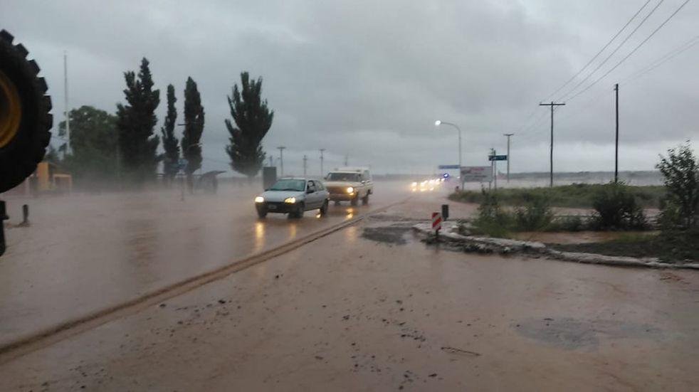 Alerta por tormentas fuertes en todo el sur mendocino