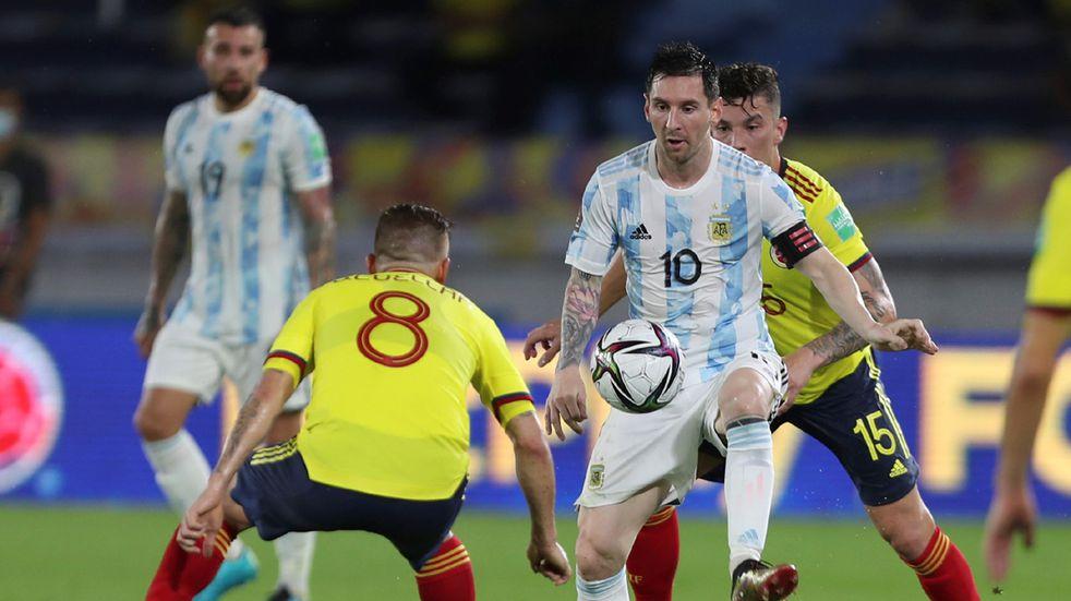 Cómo le fue a Argentina la última vez que enfrentó a Colombia en la Copa América