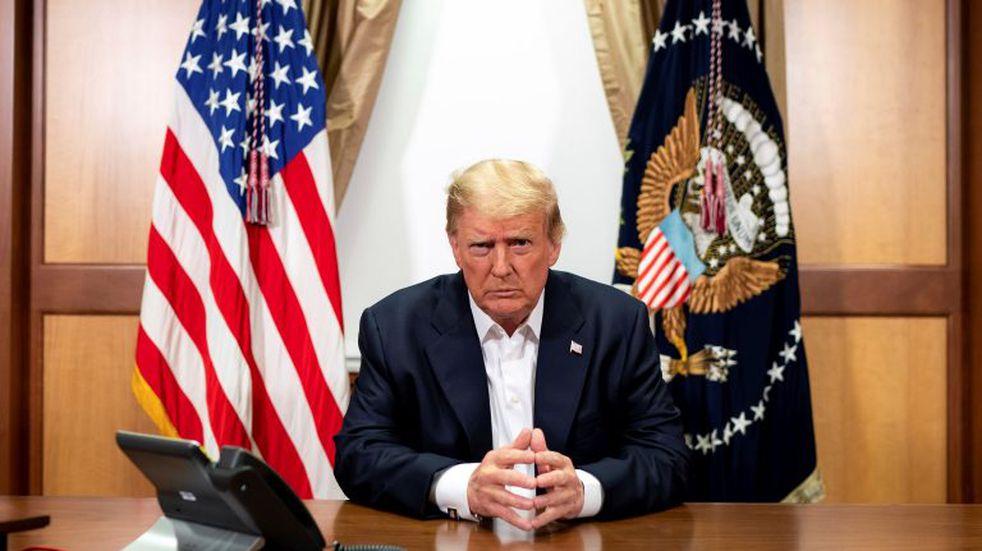 """Donald Trump rompió el aislamiento y describió como una """"bendición"""" haber tenido coronavirus"""