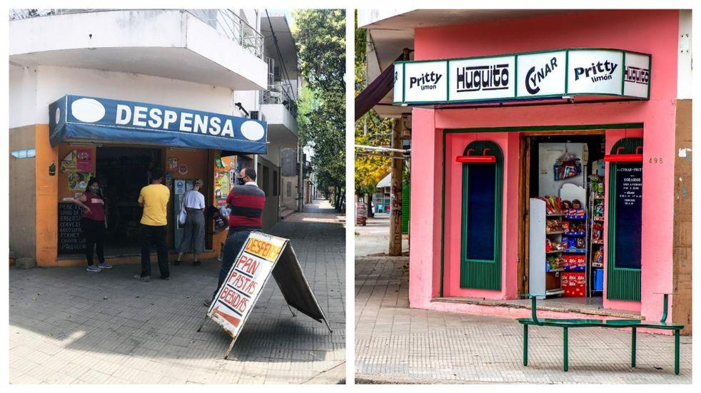 Una pinturita: intervinieron cinco comercios emblemáticos de Córdoba y los dejaron como nuevos