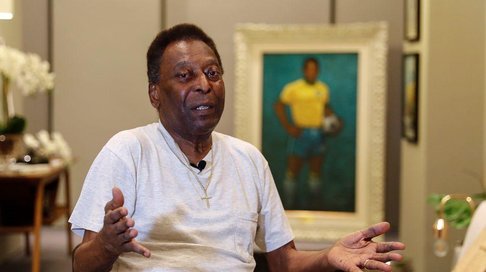 """Pelé fue operado por cáncer de colon: """"Afrontaré este partido con una sonrisa en la cara"""""""