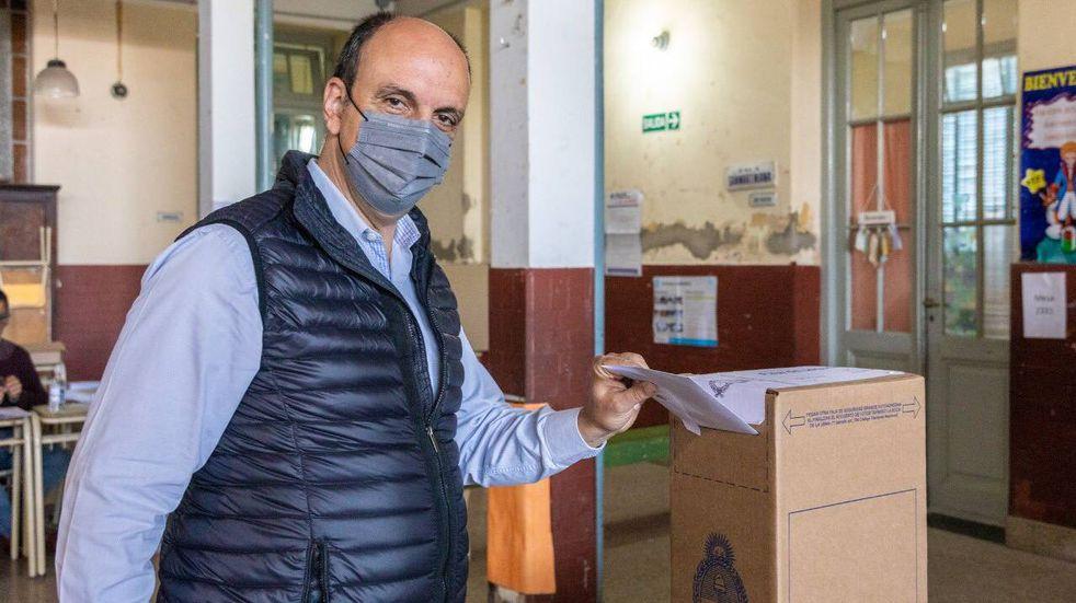 """José Corral pidió a los santafesinos que voten: """"No hay ningún riesgo"""""""