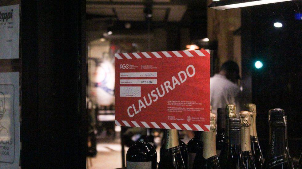 Nuevas restricciones: se clausuró un local gastronómico por no cumplir con la normativa