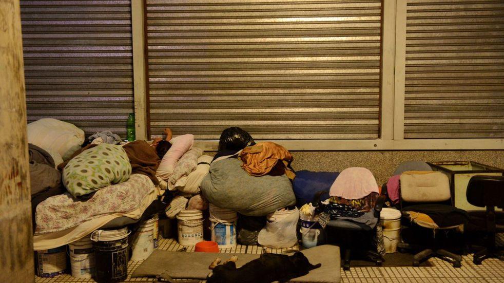 Operativo Frío: buscan asistir en la Ciudad a las personas en situación de calle