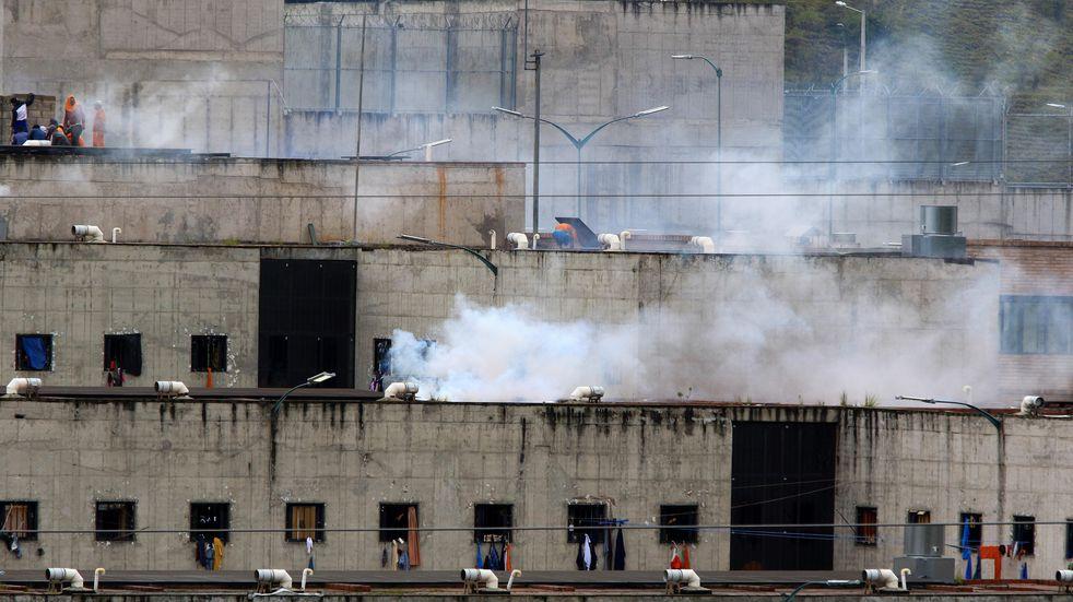 Al menos 79 muertos por motines en tres cárceles de Ecuador