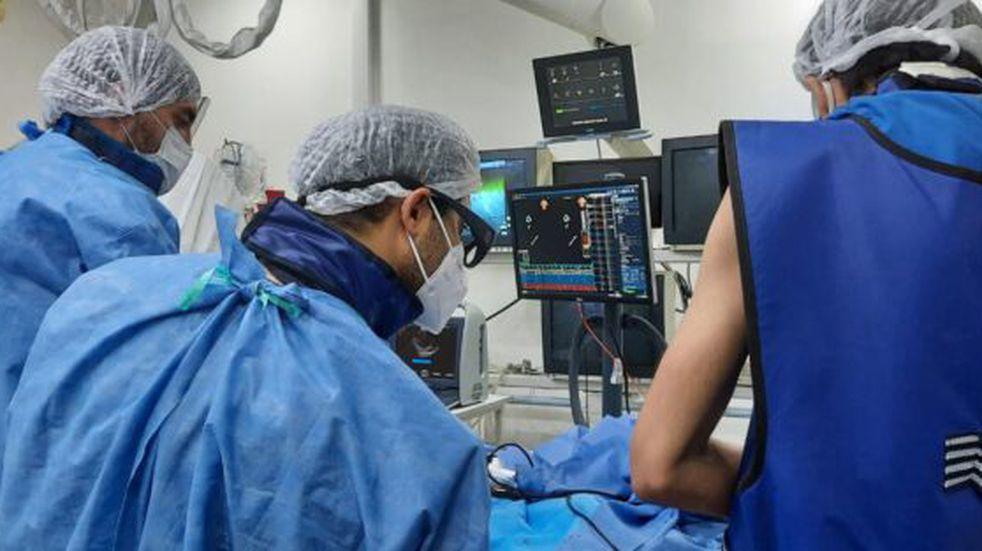 En Concepción del Uruguay se realizó una ablación de fibrilación auricular con mapeo tridimensional