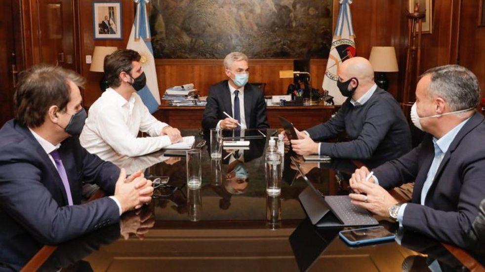 Meoni anunció un operativo conjunto con el gobierno bonaerense y la Ciudad para controlar el transporte