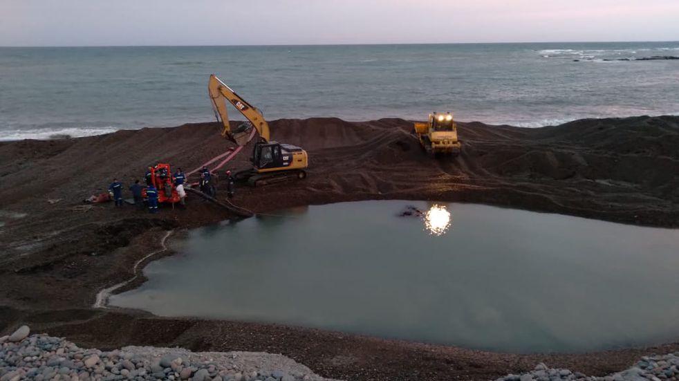 Repararon la Planta de Osmosis Inversa en Caleta Olivia