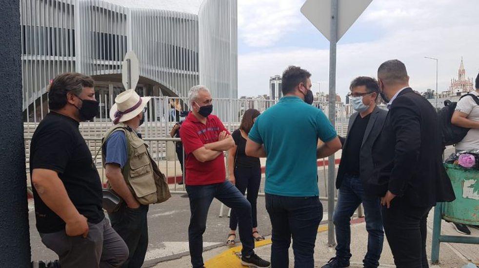 Más de 240 días sin abrir: salones de fiestas y eventos volvieron a manifestarse en Córdoba