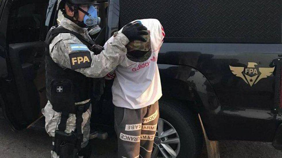 Personal de la FPA detuvo a 6 personas que integraban una banda en Arroyito