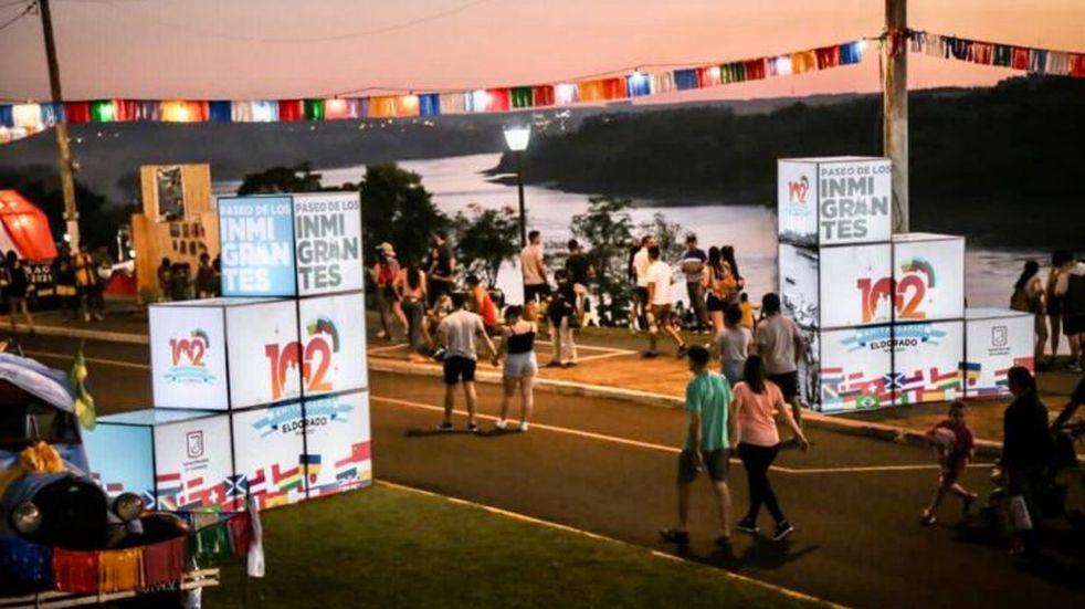 102° Aniversario de Eldorado: más de 12 mil personas recorrieron la Costanera Eduviges Markovics.