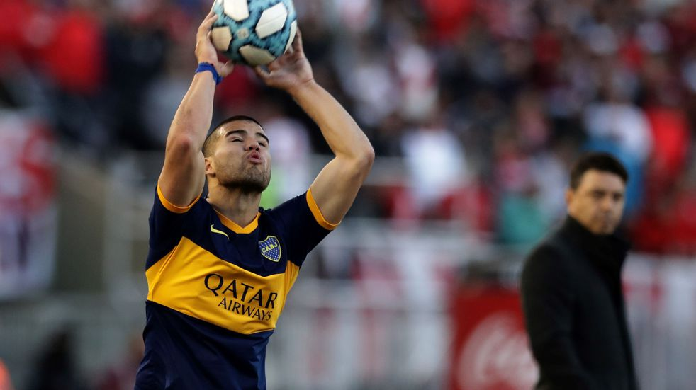 Marcelo Weigandt se despidió de Gimnasia y regresa a Boca