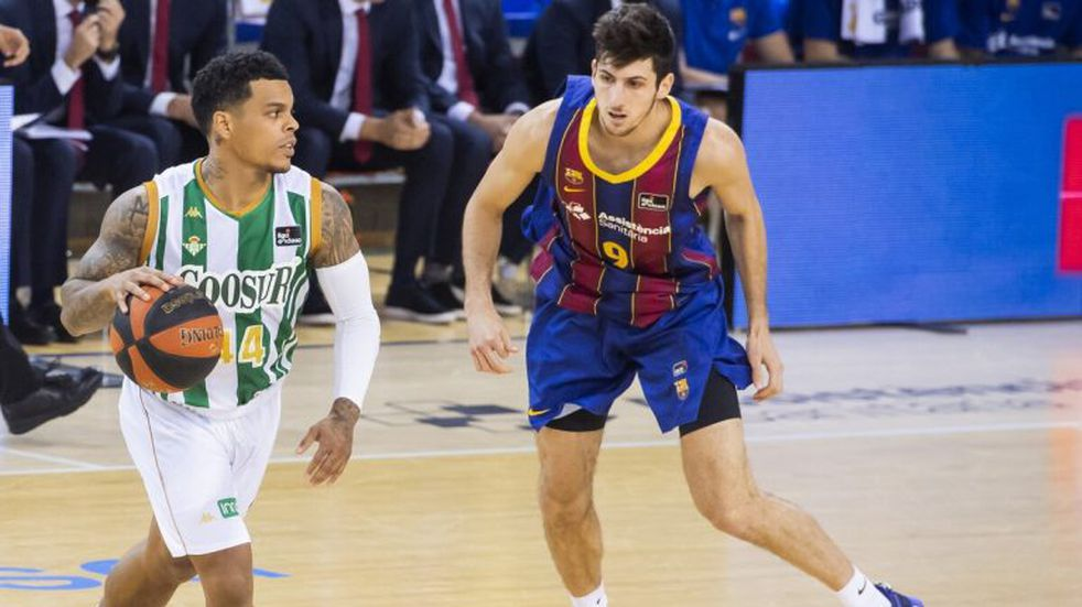 Bolmaro jugó su mejor partido en la Liga ACB con el Barcelona