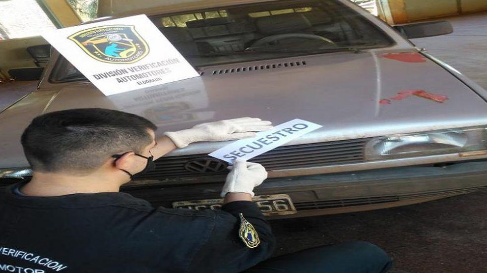 Secuestraron un vehículo en Eldorado por falta de documentación