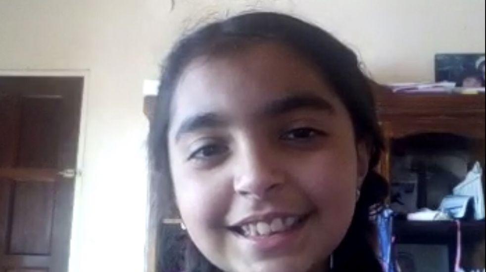 Una niña maipucina de 11 años realiza múltiples campañas solidarias para los niños de su departamento