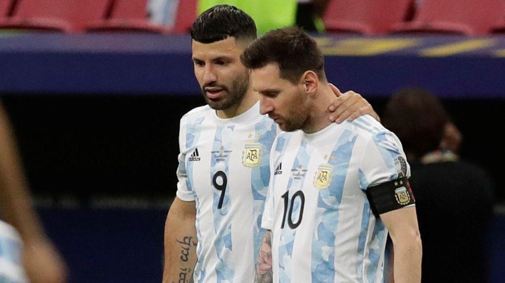 """Kun Agüero: """"Messi está muy feliz y su felicidad es la nuestra"""""""