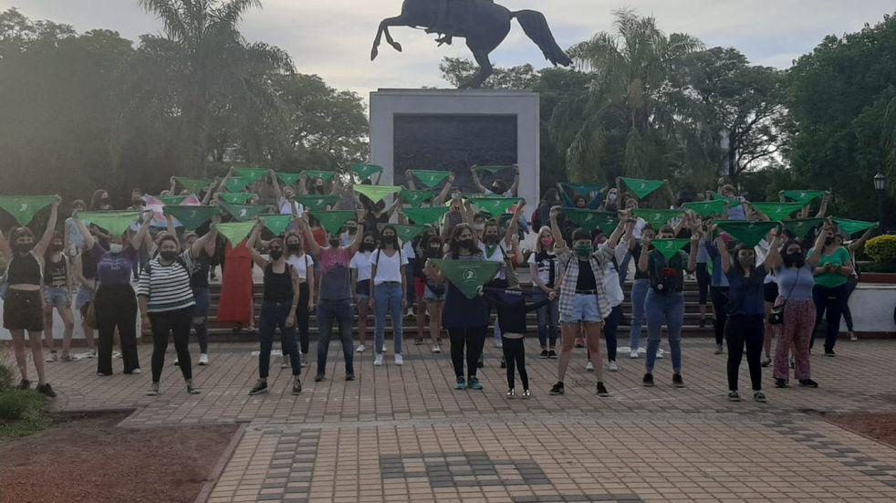 Rafaelinas se manifestaron a favor de la ley del aborto legal