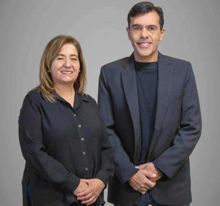 Ramona Pascual y Daniel Humberto Bini, candidatos por el Partido Federal en San Rafael.