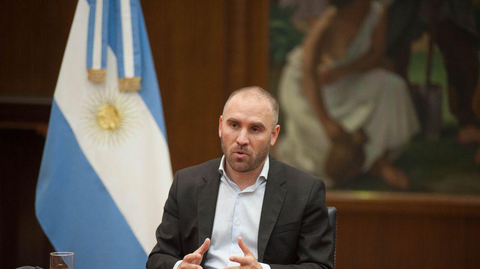 """Martín Guzmán: """"La recuperación es sólida, la inversión crece al 38,4% en términos reales"""""""