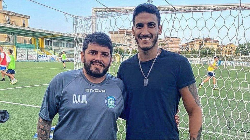El futbolista entrerriano que es dirigido por el hijo de Diego Maradona