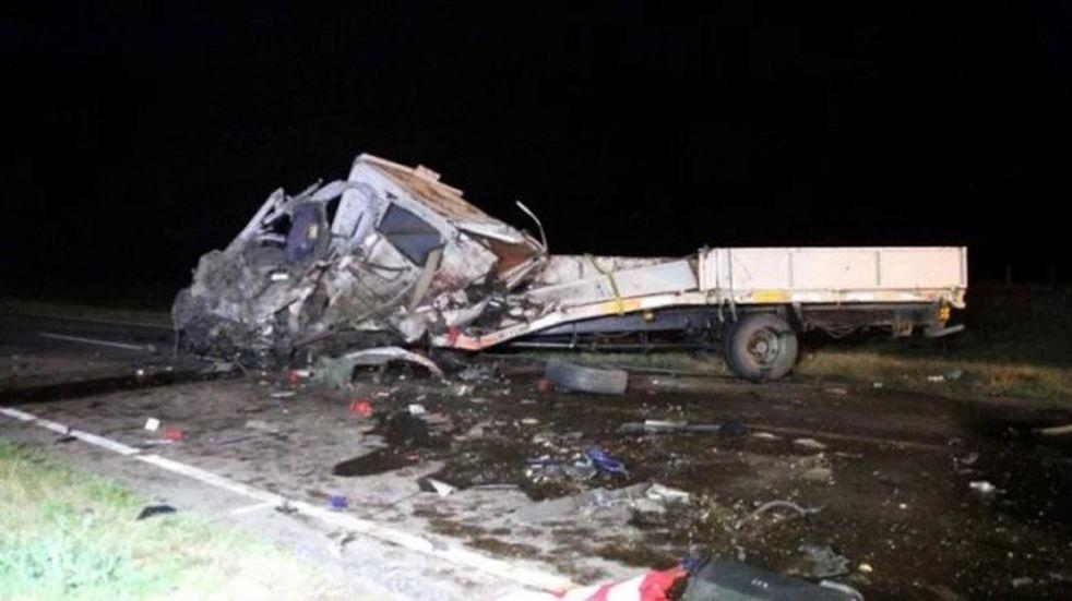 Nuevo choque fatal en La Pampa: falleció un camionero de Quemú Quemú