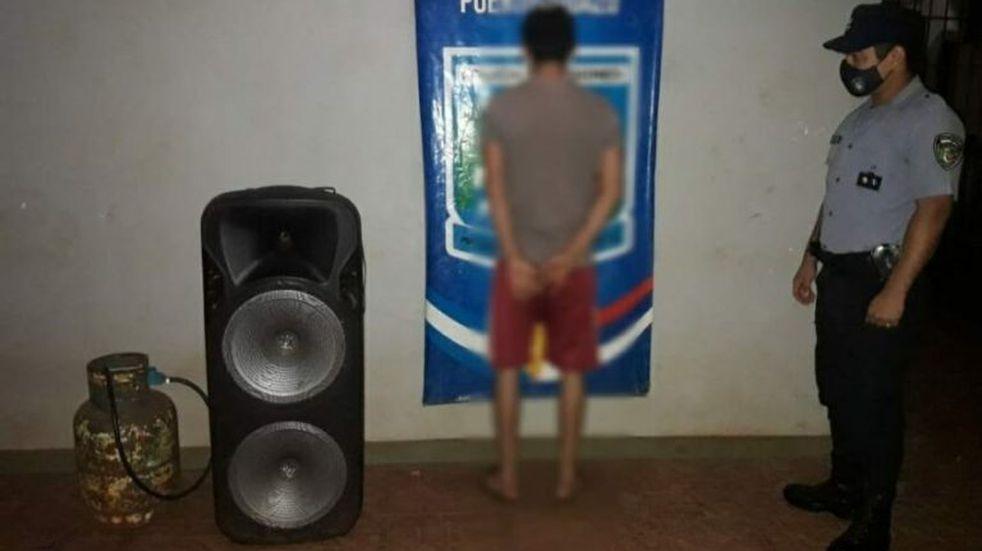 Detuvieron a un ladrón y recuperaron objetos robados en Andresito