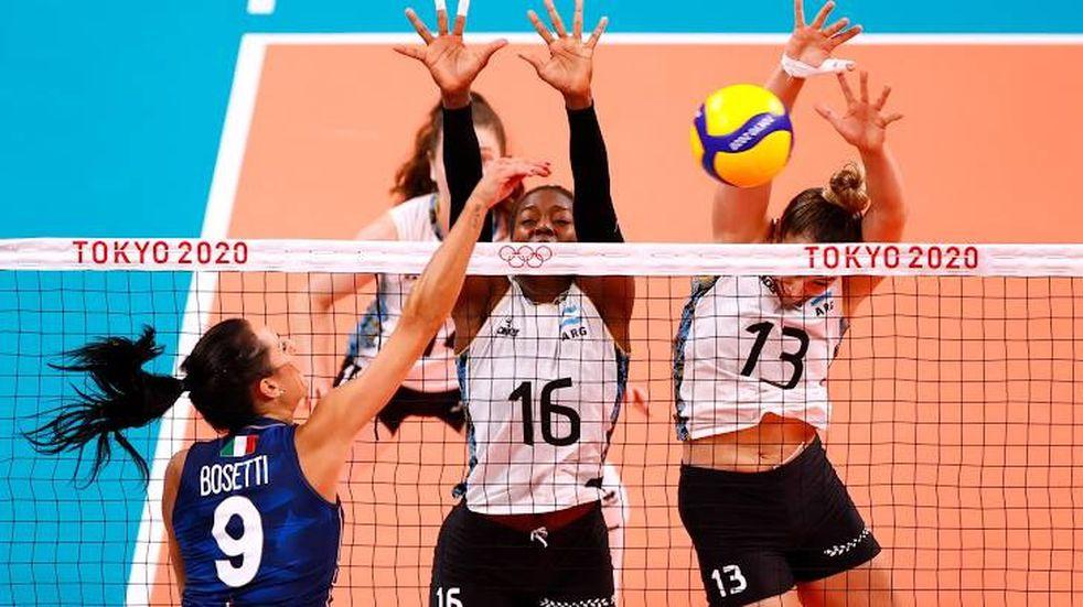 Juegos Olímpicos: Las Panteras perdieron ante Italia 3-0 en Tokio 2020