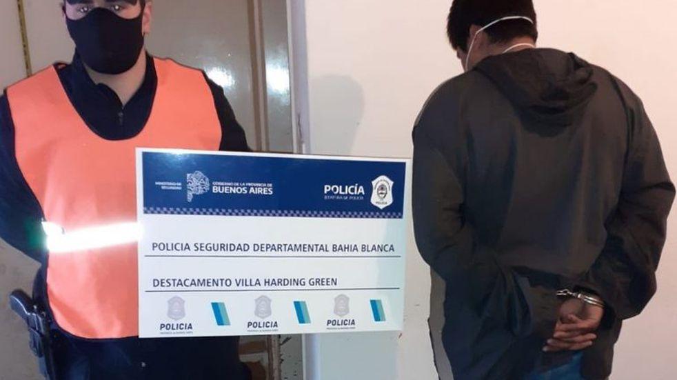 Bahía Blanca: quedó detenido el autor de un asalto violento en un comercio