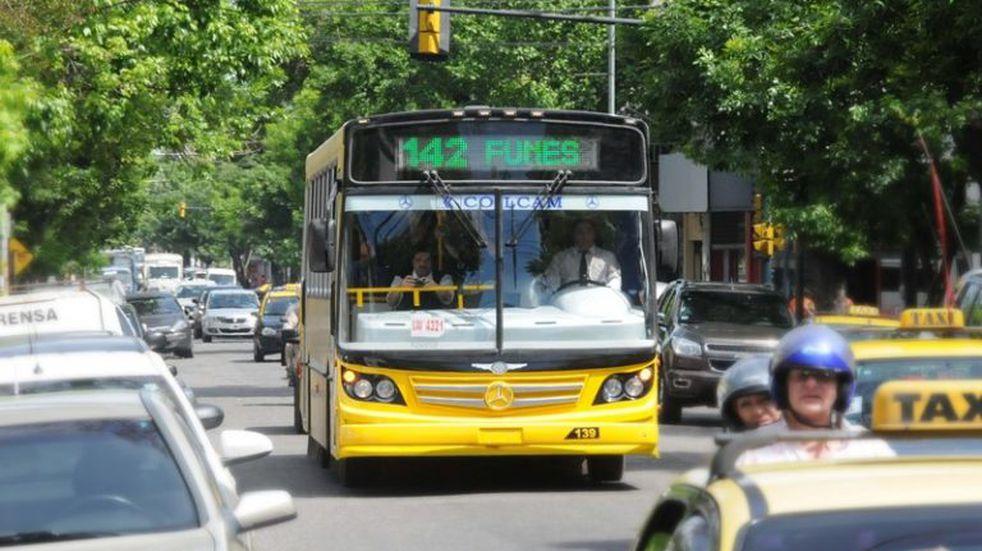 El paro en Rosario: garantizan colectivos y taxis hasta la medianoche