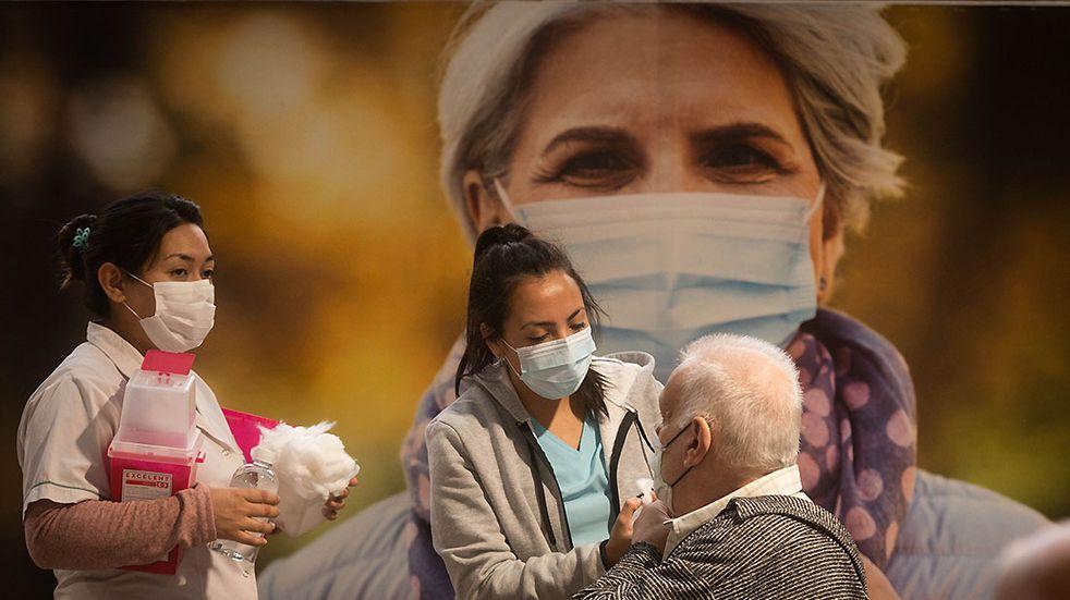 Cuáles son las provincias con más personas vacunadas contra el coronavirus