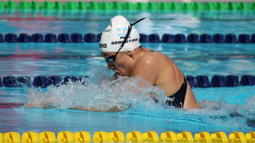 Julia Sebastián no alcanzó las semifinales en los 100 metros pecho: cuándo vuelve a competir en Tokio 2020