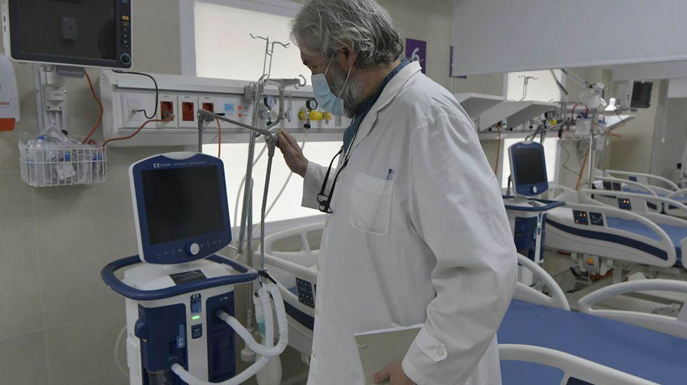 Coronavirus en Mendoza: baja la ocupación de camas UTI en el sector privado