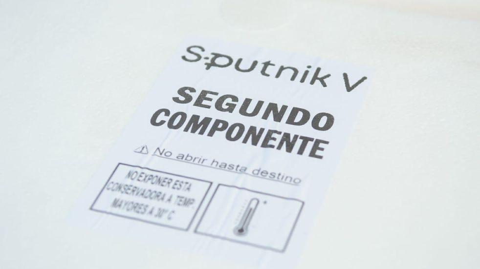 El lunes llegan 2700 vacunas para completar el esquema de Sputnik V