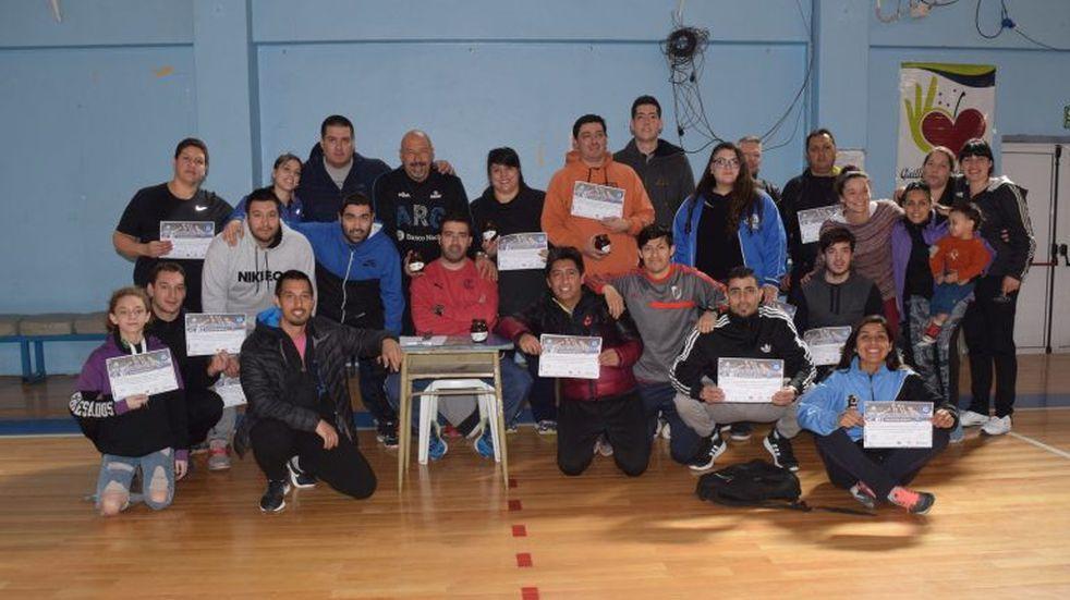 Se realizó el curso de entrenadores de voleibol