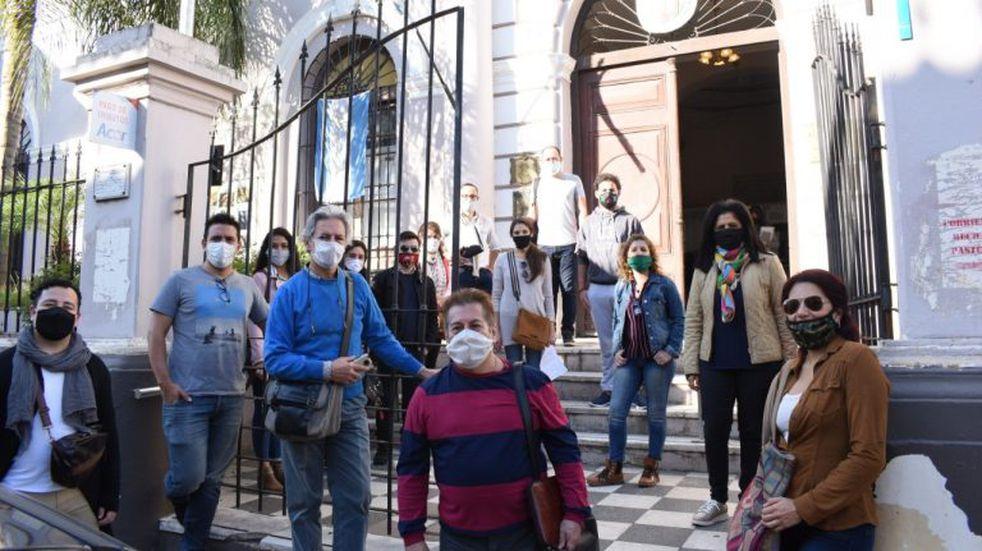 Los trabajadores de artes escénicas buscan un marco regulatorio