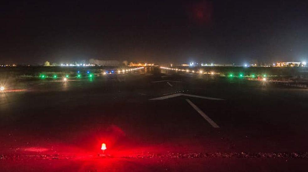 El aeródromo de San Martín apto para vuelos sanitarios nocturnos