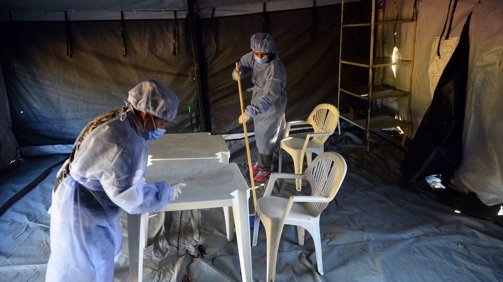 Coronavirus en San Luis: para este martes se registraron 486 casos y 14 muertes.